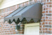 Straight Copper Awning # 31