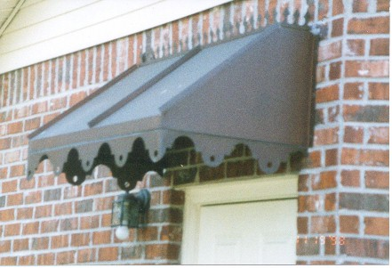 Copper Straight Awning - #Awn31