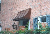 Straight Copper Awning # 4