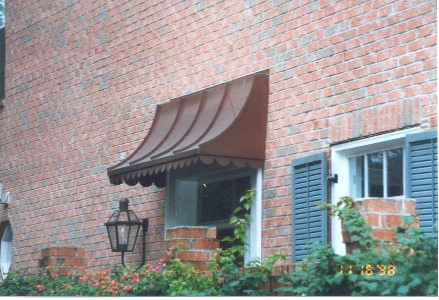 Copper Sweep Awning - Straight Side - #Awn4