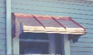 Copper Straight Awning # 55
