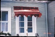 Copper Awning # 68