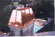 Copper Chimney Cap # 73