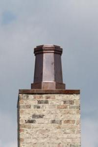 Copper Chimney Pot # 76