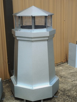 Decorative Chimney Pot Galvalume