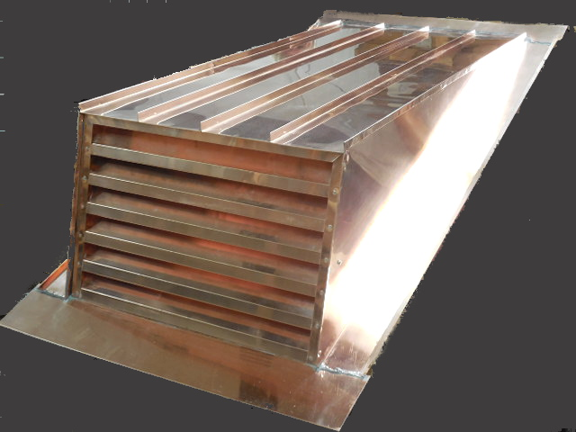CUSTOM ROOF VENT WITH REMOVABLE FACE  - #LouTBD